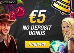 Energy Casino €5 No deposit Bonus