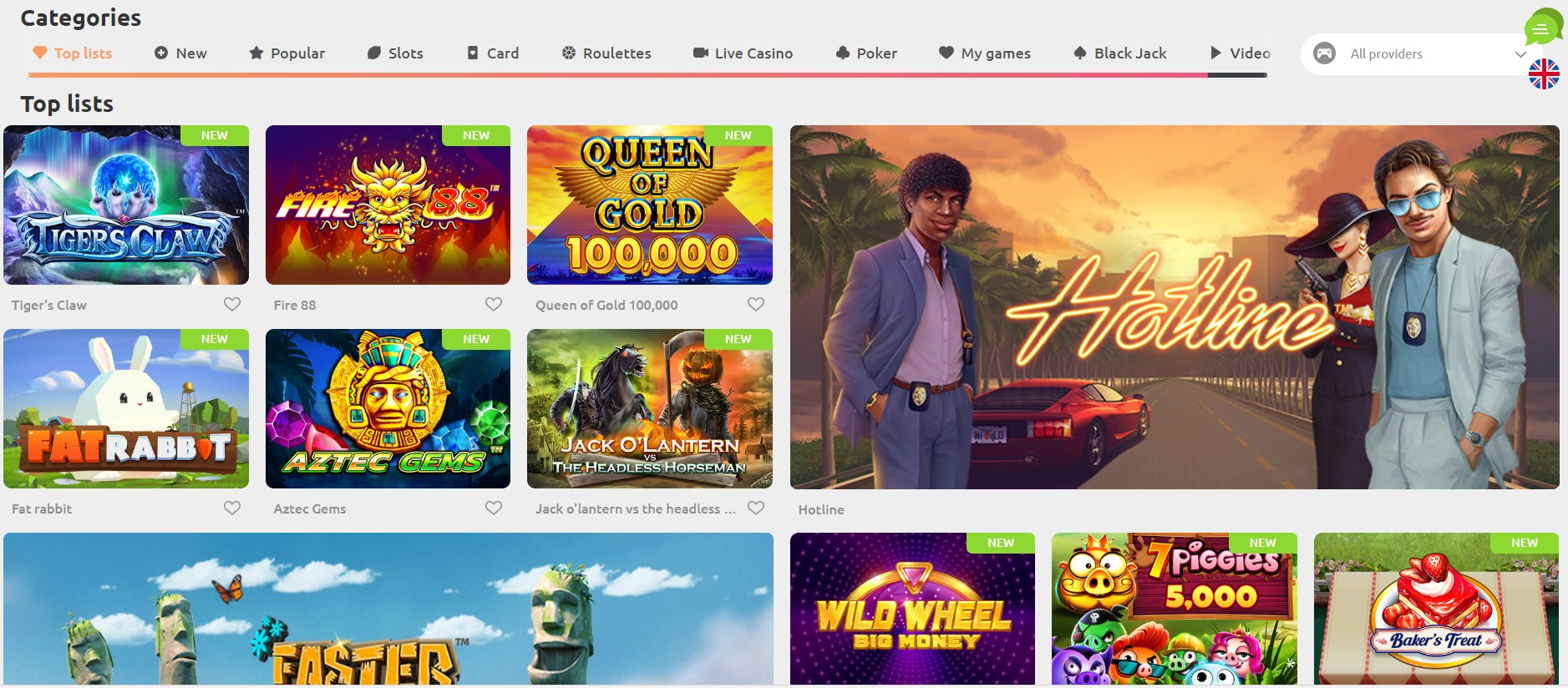 cadoola casino homepage