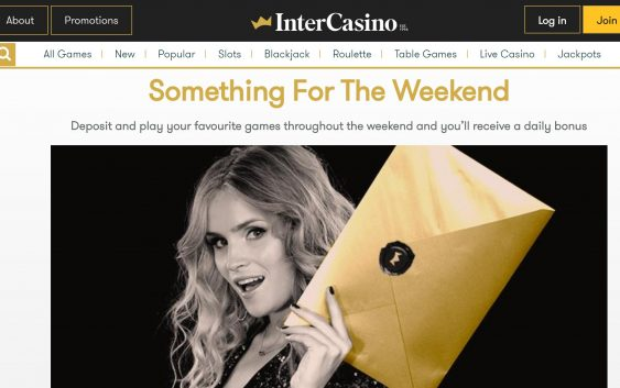intecasino weekend promotion