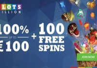 Slotsmillion Casino Welcome offer