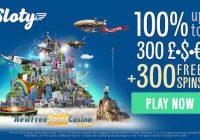 Sloty Casino free Spins