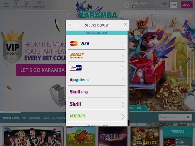 Karamba_casino_banking